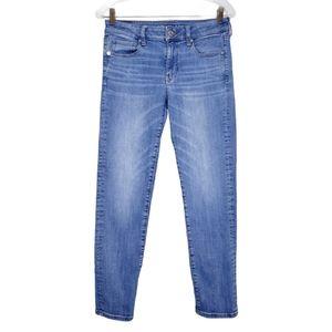 American Eagle Super Stretch Skinny Jeans 8 Short